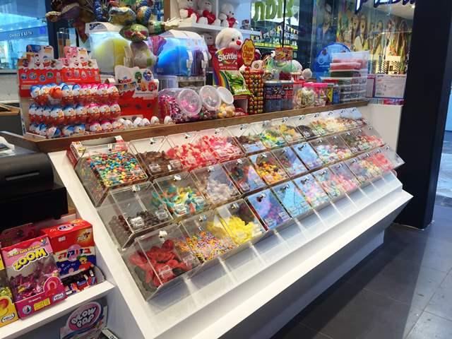 קופסאות פרספקס לממתקים