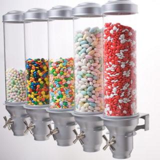 מיכלים לאחסון סוכריות