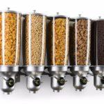 אחסון מזון יבש – דיספנסרים לתליה